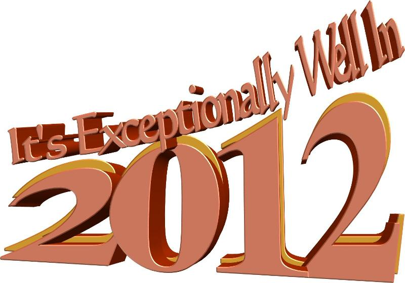 its exceptionally well 2012