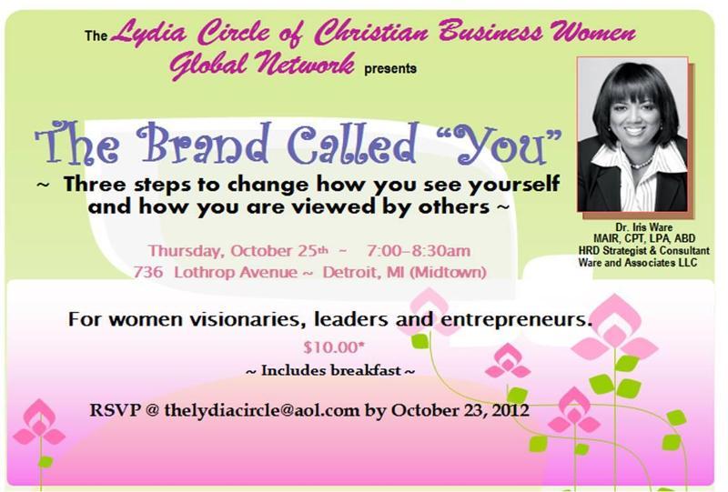 Lydia Circle of Christian Business Women