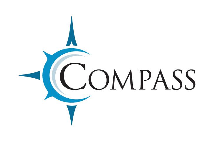 Compass shower