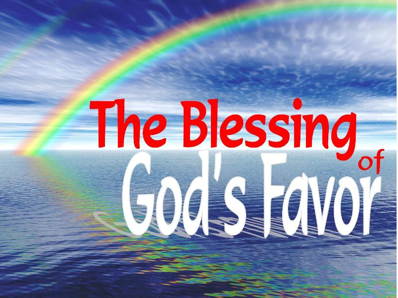 blessing of God's Favor showers group ministries tsgm