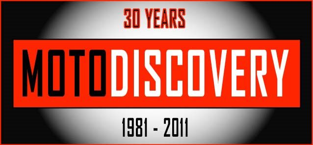 MotoDiscovery 30 Year Logo- Home Page