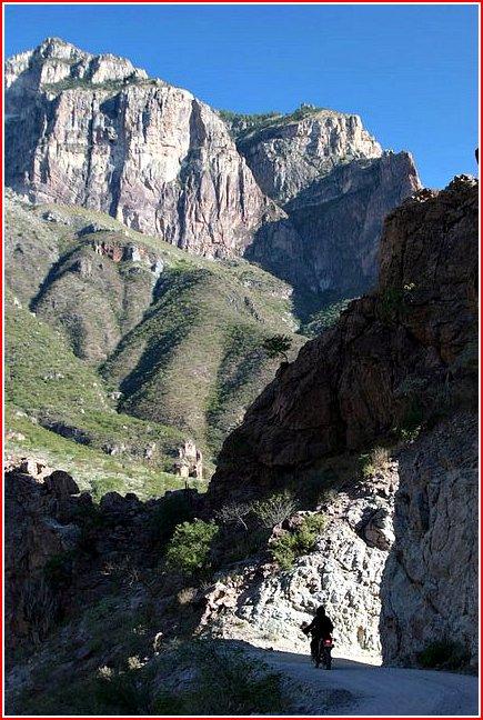 in Batoplias canyon