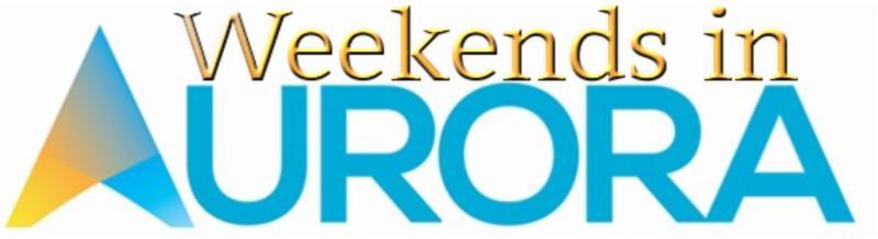 Weekends in Aurora, IL (September 25 - September 27, 2015)