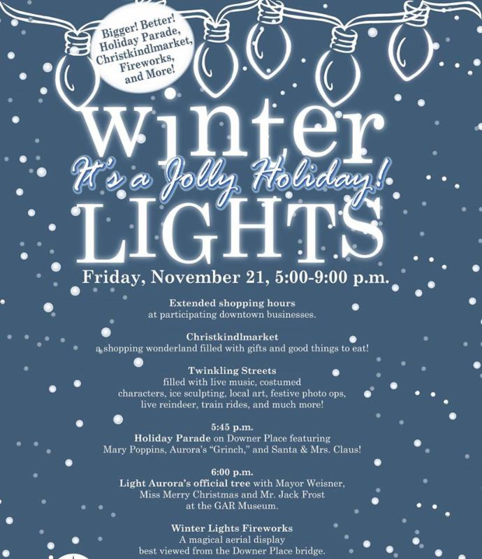 TONIGHT (11/21) IS THE NIGHT!  IT'S TIME FOR WINTER LIGHTS!