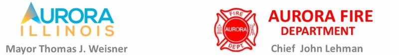 Aurora, Illinois - MAYOR WEISNER SELECTS FIRE MARSHAL  AS NEXT AURORA FIRE CHIEF