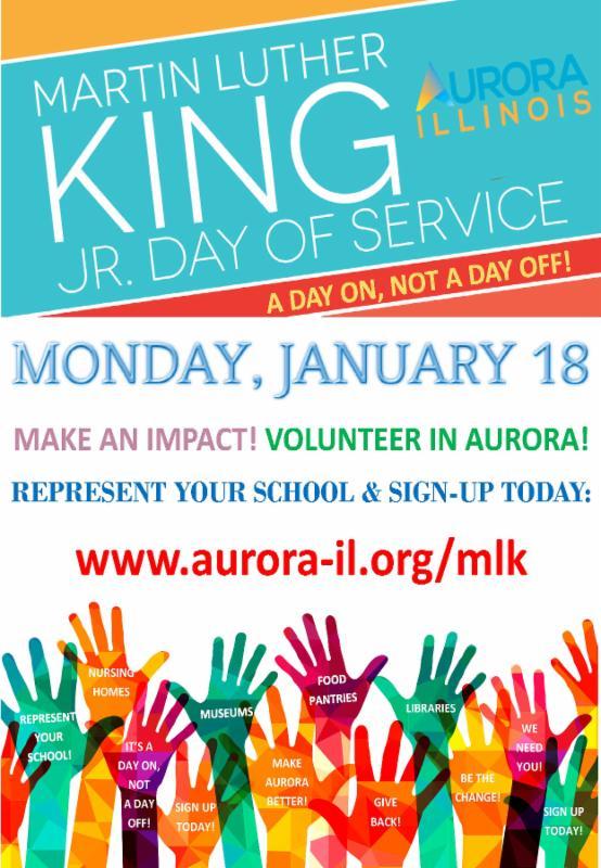Aurora, IL - MLS Day (January 18, 2016)