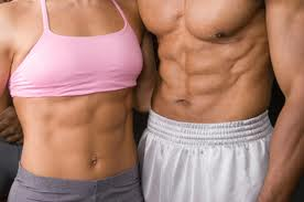 Abs, No Belly Fat Woman and Man