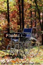 wheelchair on grass