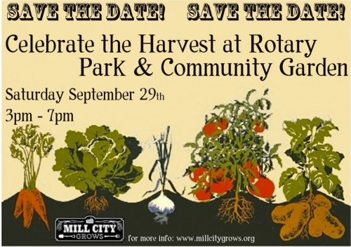 Mill City Grows Harvest Fest, Sept. 29!