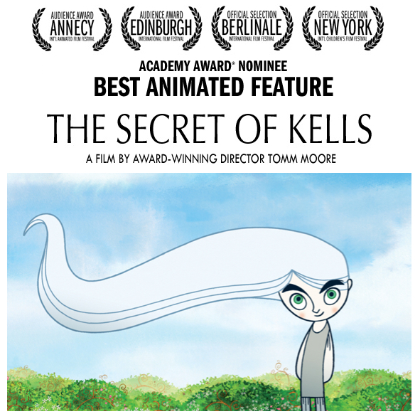 "Don't miss ""The Secret of Kells"" in Lowell, October 23!"