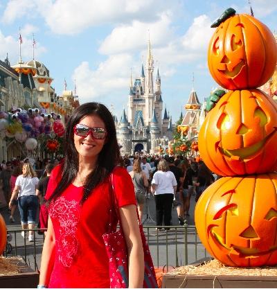Julie Elias at Disney World