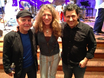 Phil Keaggy, Ashley Cleveland and Dave Cleveland at CMS Nashville