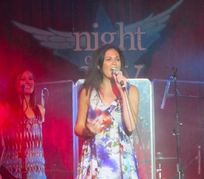 Julie Elias at Night of Joy 2012