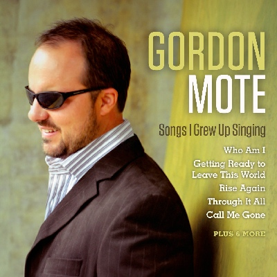 Gordon Mote - Songs I Grew Up Singing CD Cover