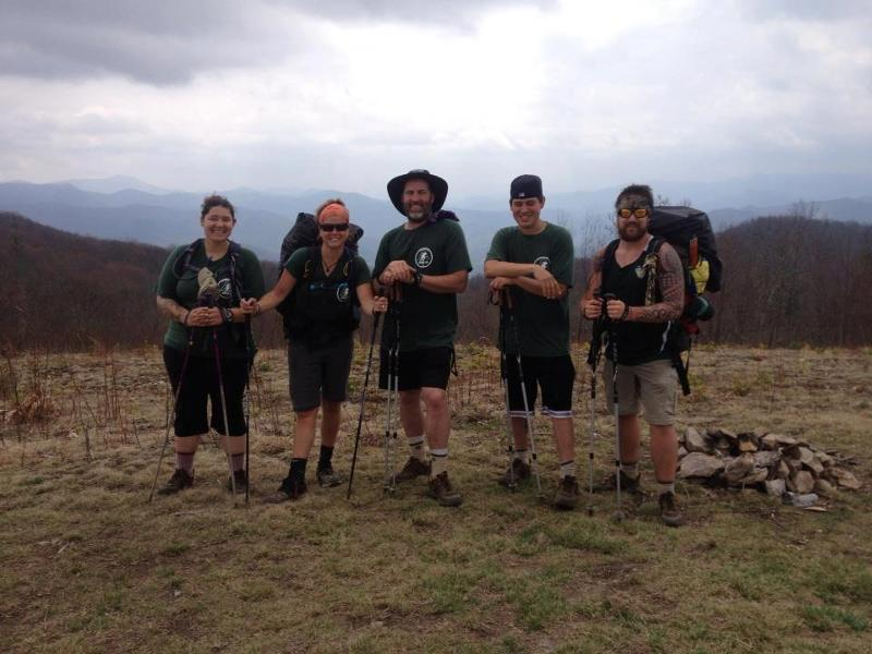 HIkers on Mountaintop