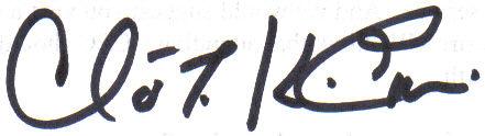 Claver's Signature