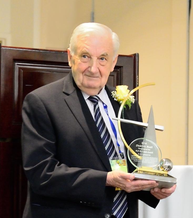 Prof.Jindrich Musil,2014 Bunshah Award recipient