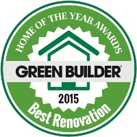 Green Builder Media Home of the Year Award Best Renovation 2015