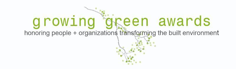 Growing Green Awards Logo w slogan
