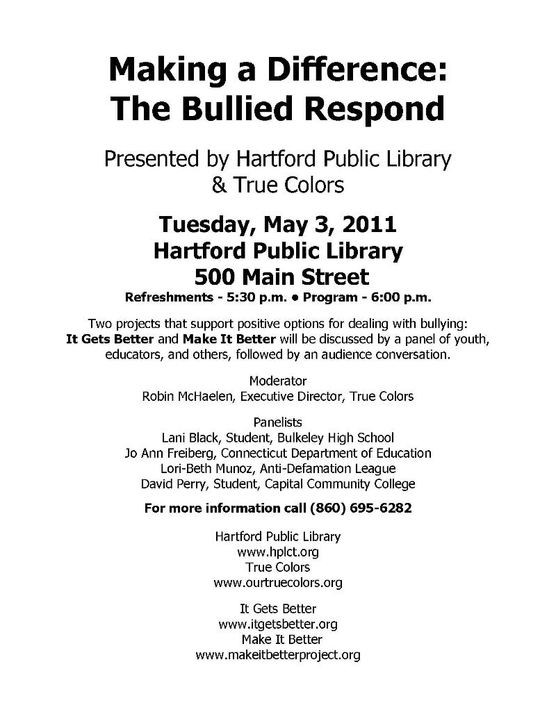 The Bullied Respond