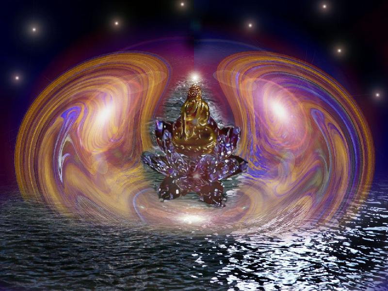Buddha rising