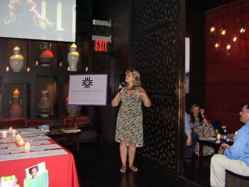 Melanie speaking