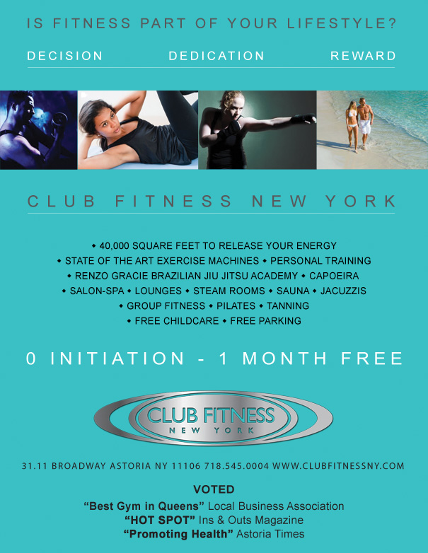 club fitness turquoise