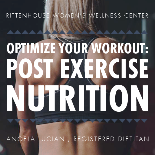 Optimize your workout: post exercise nutrition