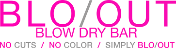 Blo/Out Blow Dry Bar logo