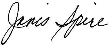 Janis signature