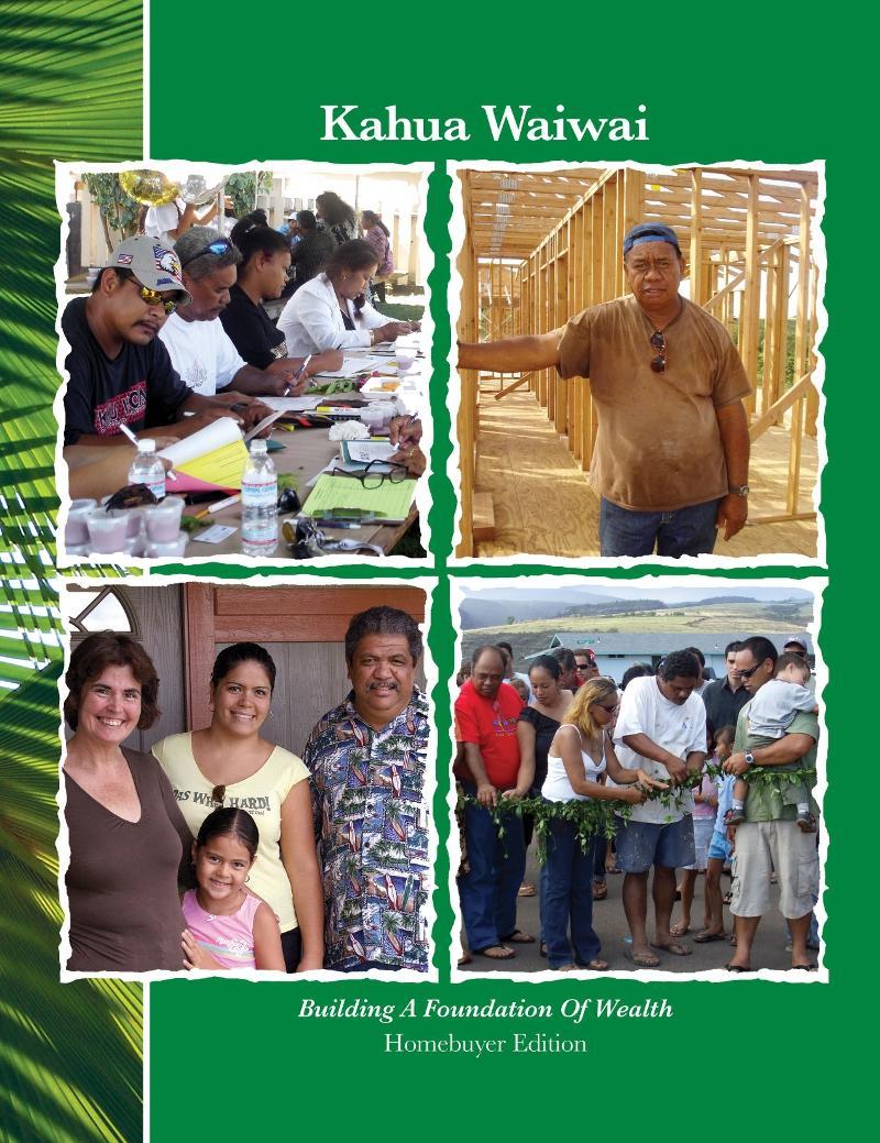 Kahua Waiwai Homebuyer Ed Cover