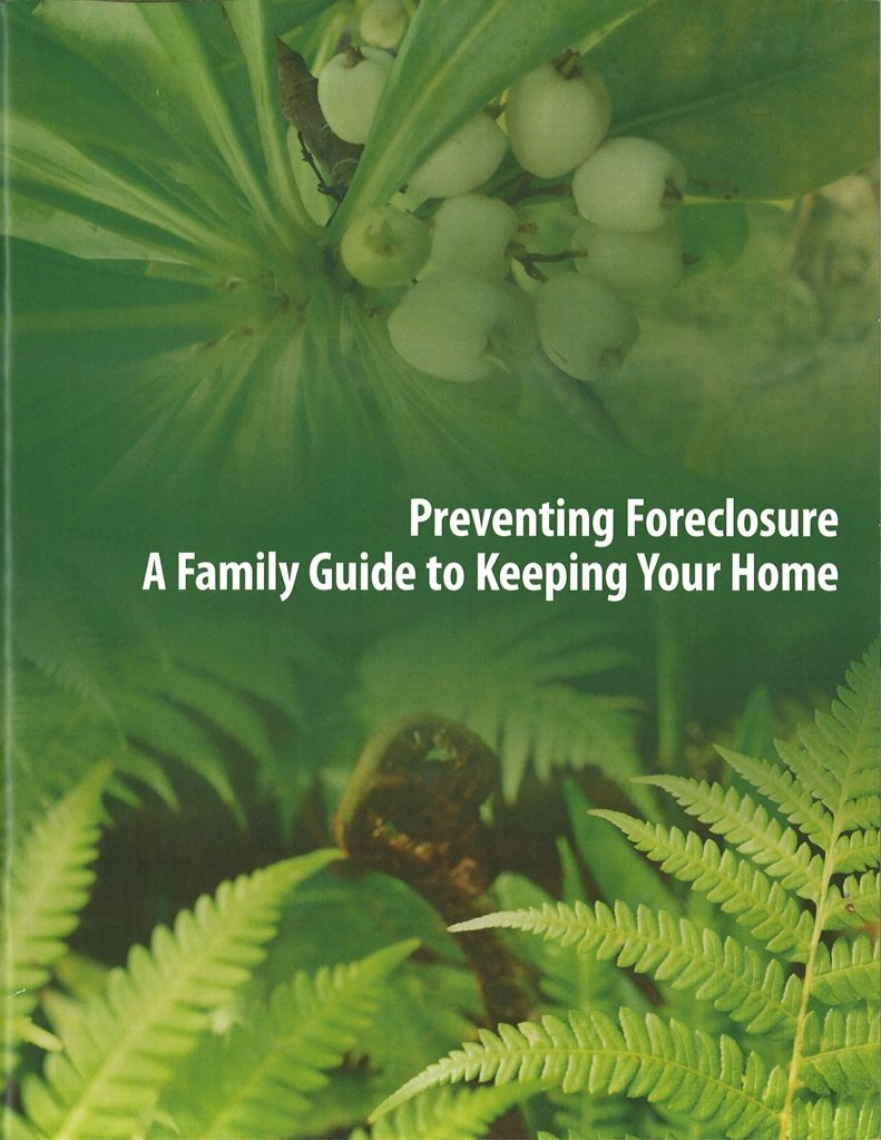 Foreclosure Handbook Cover