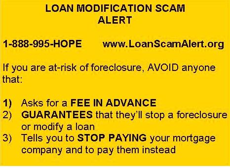 Loan Scam Alert ad