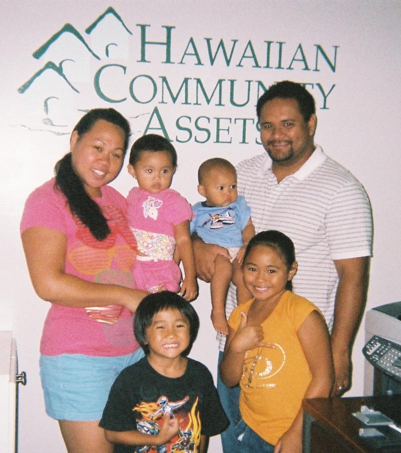 Family w HCA logo