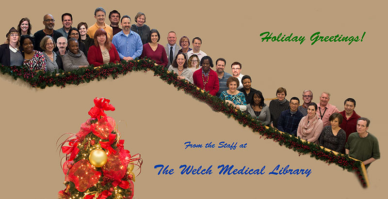 Welch Medical Library Staff
