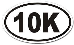 10k = 6.2 Miles