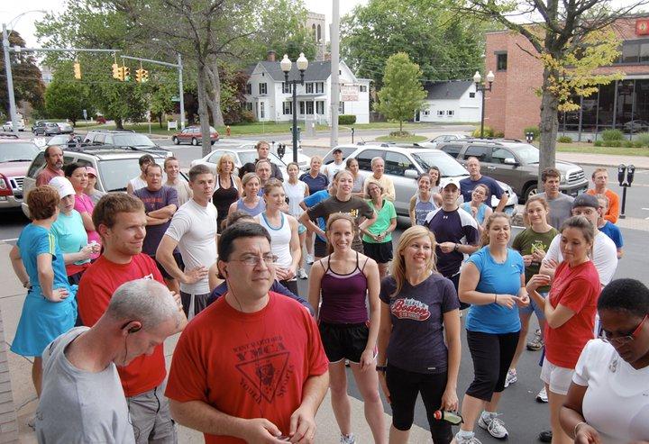 Fun Run Crowd