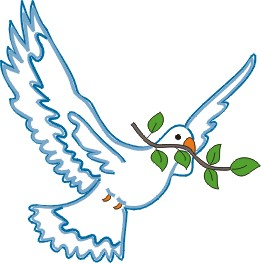 Dove with Branch