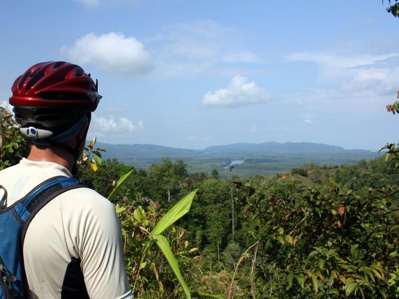 Mountain biking is a great way to see the Osa Peninsula