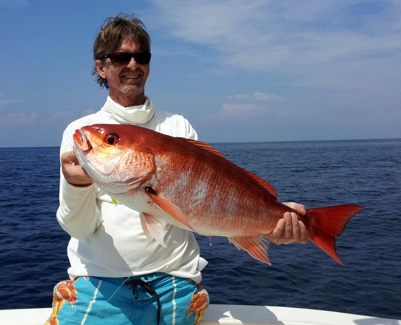 Yet another big red snapper!