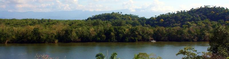 Nice panoramic views of the river and mountains from lot #5