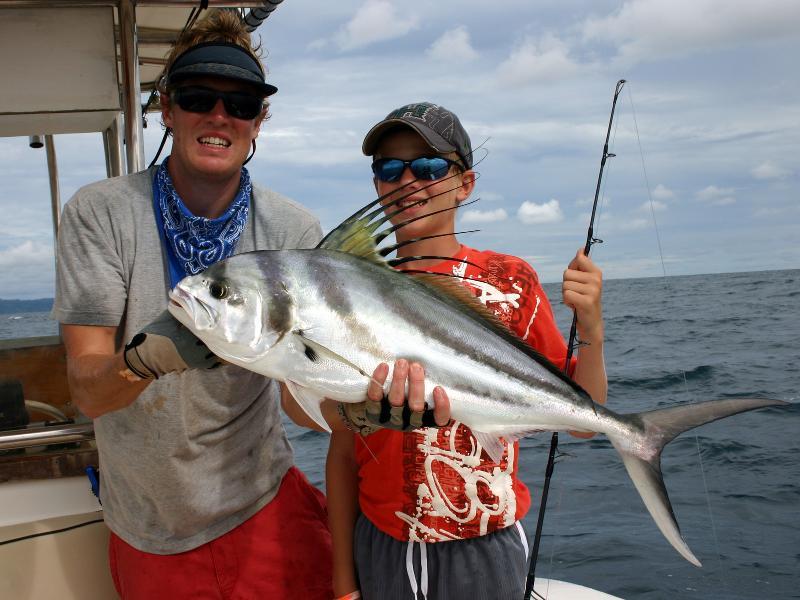 great fishing in the osa peninsula of Costa Rica