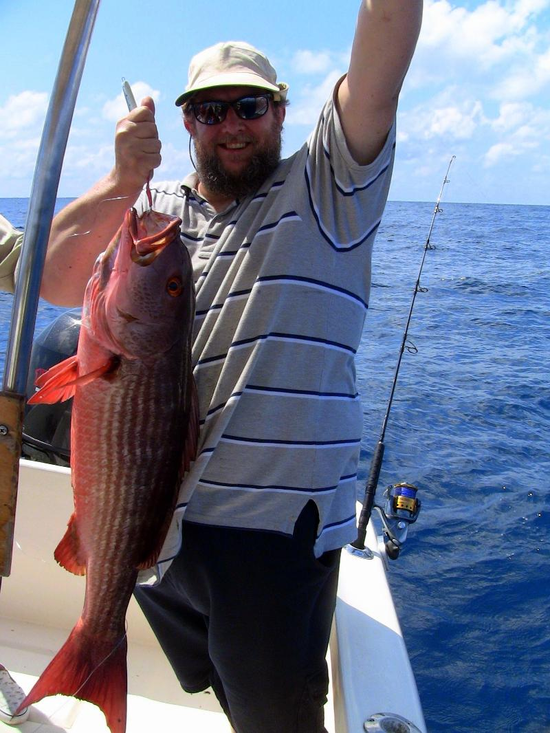 mullet snapper caught jigging