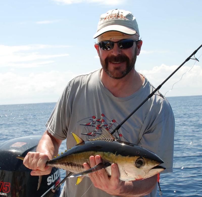 yellowfin tuna caught in Pacific Ocean
