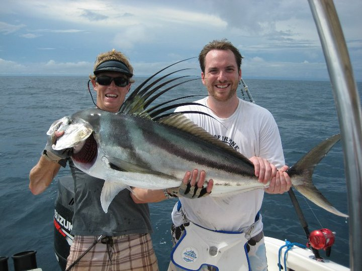 Nice Roosterfish caught near Cano Island