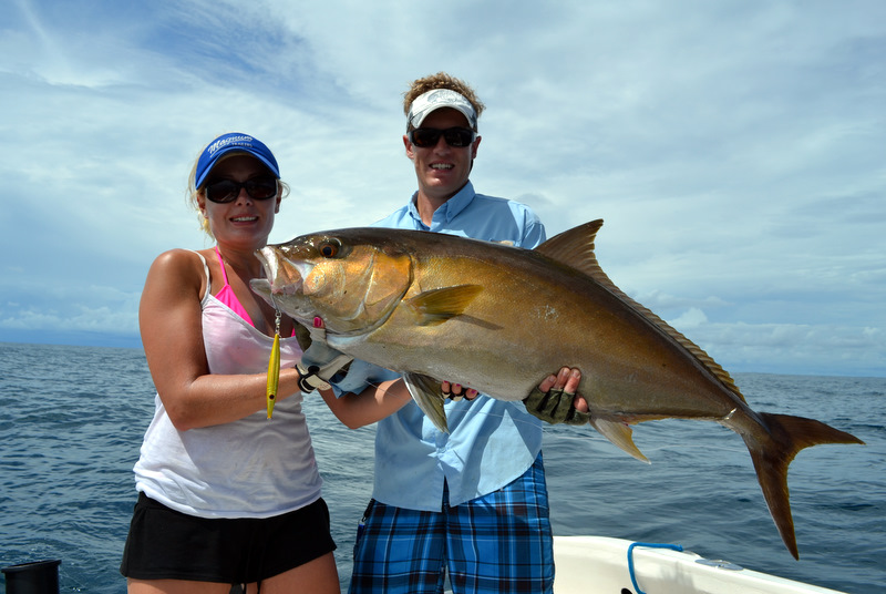 Big Amberjack Caught by SDP Owner Laura Freeman