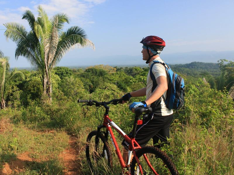 Great mountain biking is available at SDP