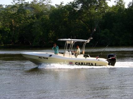 """Sierpe del Pacifico Company Boat...""""La Carlita"""""""