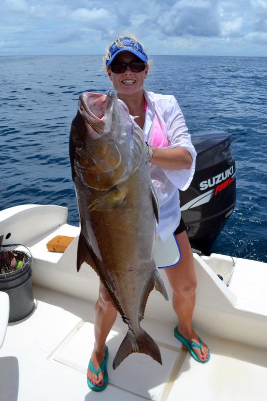 70 lb. Amberjack Owned by Laura Freeman