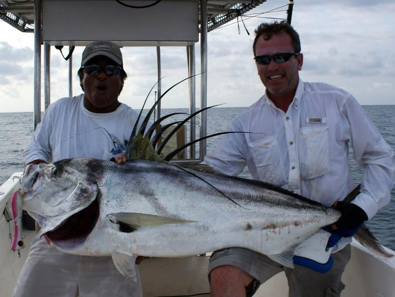 80 pound roosterfish